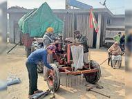 500 ट्रैक्टर-ट्राॅलियों पर 26 की ट्रैक्टर परेड के लिए आज जाएंगे 5000 किसान पंजाब,Punjab - Dainik Bhaskar