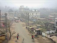 सामान्य से 4.5 डिग्री कम रहा न्यूनतम तापमान विजिबिलिटी भी 60 मीटर; हवा ने बढ़ाई कनकनी|मधुबनी,Madhubani - Dainik Bhaskar