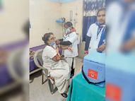 वैक्सीनेशन के बाद किसी में नहीं दिखा दुष्प्रभाव, आज भी लगेगा टीका|सीवान,Siwan - Dainik Bhaskar
