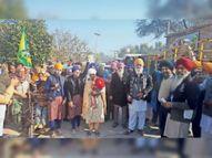 150 ट्रैक्टर लेकर 21 गांवों में रैली निकाल तैयारी शुरू की|फाजिल्का,Fazilka - Dainik Bhaskar