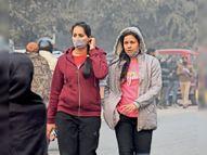 ठंड का कहर जारी, दाेपहर की धूप ने नहीं दी राहत, शाम हाेते ही बढ़ी ठंड|भागलपुर,Bhagalpur - Dainik Bhaskar