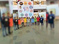अरिहंत प्रीमियर लीग 22 से दस टीम खेलेंगी, खिलाड़ियों के लिए टी शर्ट जारी|भीलवाड़ा,Bhilwara - Dainik Bhaskar