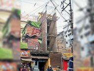 निगम का आदेश बेअसर, अवैध निर्माण पर केवल दिखावे का हथाैड़ा|भागलपुर,Bhagalpur - Dainik Bhaskar