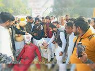 किसानों को एनआईए केे भेजे नोटिसों के खिलाफ यूथ अकाली दल के वर्करों में राेष|फाजिल्का,Fazilka - Dainik Bhaskar