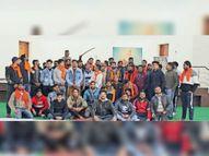राष्ट्रीय बजरंग दल ने मनाई महाराणा प्रताप की पुण्यतिथि|पंचकूला,Panchkula - Dainik Bhaskar