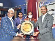 जेएलएन में हुआ प्रदेश का पहला रेजीडेंट डाॅक्टर्स स्पाेट्र्स सांस्कृतिक कार्यक्रम|अजमेर,Ajmer - Dainik Bhaskar