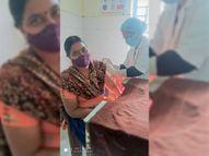 भ्रांतियों के कारण टीका लेने कम आ रहे हैं हेल्थ वर्कर्स नतीजा, चार दिन में वैक्सीन के 31 डोज बेकार हो गए; एक वायल में 10 डोज|धनबाद,Dhanbad - Dainik Bhaskar
