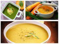 टमाटर-गाजर के सूप को कालीमिर्च और शक्कर डालकर उबालें, मूंग दाल के सूप को हरा धनिया, कसूरी मेथी डालकर सर्व करें|लाइफस्टाइल,Lifestyle - Dainik Bhaskar
