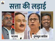 भाजपा की चुनाव आयोग से अपील- लोगों में डर, सेंट्रल फोर्स जल्द भेजें; TMC बोली- BJP के लिए काम कर रही BSF|देश,National - Dainik Bhaskar