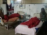 प्रतापगढ़ में ईंट भट्ठा पर काम करने वाले दो मजदूरों की मौत, महिला समेत छह की हालत बिगड़ी इलाहाबाद,Allahabad - Dainik Bhaskar