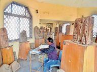 पुरातत्व संग्रहालय शिफ्ट करने के निर्णय से नाराज लोग करेंगे सांसद से शिकायत|खंडवा,Khandwa - Dainik Bhaskar