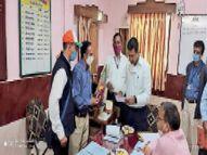 प्लेटफार्म व सर्कुलेटिंग एरिया में व्यवसायिक उपयोग के लिए निरीक्षण करेंगे आरएलडीए के अफसर|खंडवा,Khandwa - Dainik Bhaskar