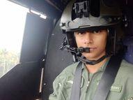 एयरफोर्स पायलट स्वाति को बचपन से ही सजने-संवरने का शौक नहीं था; खिलौने में भी हेलीकाॅप्टर मांगती थीं, भाई मर्चेंट नेवी में है|अजमेर,Ajmer - Dainik Bhaskar