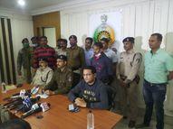 पत्थर से सिर कुचल पत्नी की हत्या; थाने में बोला- बीवी गुम हो गई, बार-बार पलटा बयान तो पकड़ा गया|रायपुर,Raipur - Dainik Bhaskar