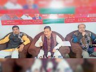 राज्य में हो रहा लोकतांत्रिक मूल्यों का हनन, कानून व्यवस्था फेल- दीपक प्रकाश|चतरा,Chatra - Dainik Bhaskar