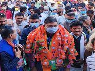 पूनिया ने कांग्रेस सरकार पर साधा निशाना, कहा- राजस्थान में हो सकते हैं मध्यावधि चुनाव|उदयपुर,Udaipur - Dainik Bhaskar