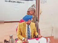 एक्ट्रेस कविता चौधरी ने तहसील-2 में कराई कोठी की रजिस्ट्री|अमृतसर,Amritsar - Dainik Bhaskar