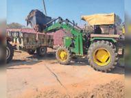 मंडावा में अभियान चलाकर कचरा उठाया मंडावा,Mandawa - Dainik Bhaskar