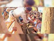 कलेक्टोरेट घेरने निकले 213 भाजपाई गिरफ्तार|जगदलपुर,Jagdalpur - Dainik Bhaskar