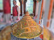 बाबा जहरगिरि आश्रम में देशी घी से 2500 क्विंटल आटे की पूरी और 5 हजार क्विंटल आटे की बनाई तंदूरी रोटी|भिवानी,Bhiwani - Dainik Bhaskar