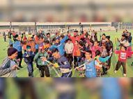 हॉकी इंडिया ने सुरजीत हॉकी एकेडमी को दी मान्यता,अब सुरजीत हॉकी एकेडमी सीधे राष्ट्रीय चैंपियनशिप में हिस्सा ले सकेगी|जालंधर,Jalandhar - Dainik Bhaskar