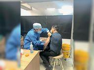 673 ने लगवाई वैक्सीन, प्रोत्साहित करने के लिए डाॅक्टर अपनी वीडियो कर रहे शेयर पंजाब,Punjab - Dainik Bhaskar