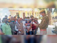 भतीजे ने चाचा पर किया जानलेवा हमला, गंभीर घायल हाेने पर किया उदयपुर रैफर|आसपुर,Aaspur - Dainik Bhaskar