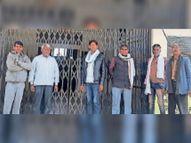 ग्राम पंचायतों के खुलवाए जा रहे पीडी खातों के विरोध, सरपंच बोले- पंचायतों के वित्तीय अधिकारों पर हमला|करौली,Karauli - Dainik Bhaskar