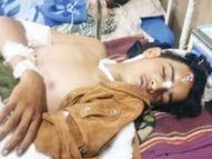 सड़क किनारे खड़े होकर बात कर रहे तीन दोस्तों को तेजगति से दौड़ रहे डंपर ने कुचला, 16 साल के किशोर ने इलाज के दौरान दम तोड़ा|इंदौर,Indore - Dainik Bhaskar