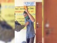 शेरगढ़ बीडीओ ऑफिस में आत्मदाह करने उड़ेला पेट्रोल, युवक व दो साथी गिरफ्तार|जोधपुर,Jodhpur - Dainik Bhaskar