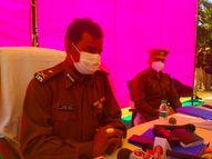 पहले ही दौरे में खोली भर्ती परीक्षा की पोल; 2014 बैच के पुलिस अफसरों से बोले- सब जानते हैं कैसे भर्ती हुए थे आप|सीकर,Sikar - Dainik Bhaskar