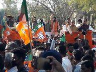 नेता प्रतिपक्ष धरमलाल कौशिक सहित 5 हजार कार्यकर्ताओं ने दी गिरफ्तारी; कहा- ठगवा सरकार खुद ही गिर जाएगी|बिलासपुर,Bilaspur - Dainik Bhaskar