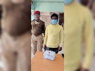 दानिश हत्याकांड में फरार अपराधी मकसूद गिरफ्तार, पिस्टल बरामद जमशेदपुर,Jamshedpur - Dainik Bhaskar