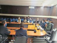 सोनारी एरोड्रम समिति की हुई बैठक, बीसीएएस एनओसी पर ही सोनारी एयरपोर्ट केे पास निर्माण के लिए नक्शे को मंजूरी- डीसी|जमशेदपुर,Jamshedpur - Dainik Bhaskar