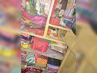 जुगसलाई में मसाला कारोबारी के फ्लैट का ताला तोड़कर लाखों के ज्वेलरी चोरी|जमशेदपुर,Jamshedpur - Dainik Bhaskar