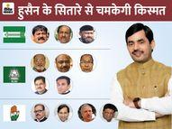 NDA में कोई MLA नहीं बना, BJP से शाहनवाज MLC बने तो JDU ने ढूंढ़ा खान, महागठबंधन में भी 9 एक्टिव|पटना,Patna - Dainik Bhaskar