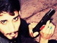 दाऊद व आनन्दपाल की तरह अपराध की दुनिया में नाम कमाना चाहता था, 2 लाख की रंगदारी नहीं देने पर भाजपा पार्षद दी थी गोली मारने की धमकी|कोटा,Kota - Dainik Bhaskar