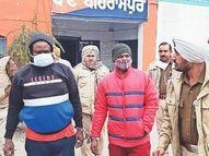जिले में पहली बार विदेशी तस्कर पकड़े, 2 नाइजीरियन से हेरोइन बरामद, एसएसपी बोले-दिल्ली से जुड़े हैं तार पंजाब,Punjab - Dainik Bhaskar