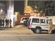 जज-सांसद निवास के सामने बंगले पर चलाई गोली जवाबी फायरिंग में हिस्ट्रीशीटर को लगी बुलेट|जोधपुर,Jodhpur - Dainik Bhaskar