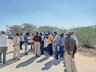 झाड़ियों में मिला युवक का शव परिजनों ने जताई हत्या की आशंका|जोधपुर,Jodhpur - Dainik Bhaskar