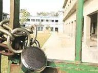 रामसिंह का पुरा में दो साल से बंद है प्राइमरी स्कूल, दोनों शिक्षकों का निकल रहा वेतन|मुरैना,Morena - Dainik Bhaskar