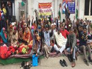 विक्रेता बोले- 500 रुपए प्रतिदिन दे सरकार, हम उनकी सब्जी बेचने को तैयार पानीपत,Panipat - Dainik Bhaskar