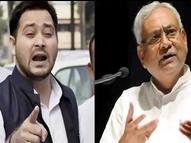 सोशल मीडिया पर आपत्तिजनक कमेंट ना करने के आदेश के बाद तेजस्वी ने नियम तोड़ा, कहा- CM अब कराएं मुझे गिरफ्तार|पटना,Patna - Dainik Bhaskar