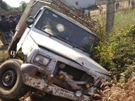 उग्र ग्रामीणों ने 2 घंटे तक NH को रखा जाम, CO के आश्वासन के बाद माने|चतरा,Chatra - Dainik Bhaskar