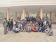 'अपना अबोहर, अपनी आभा' मुहिम के तहत शिव भूमि में चलाया सफाई अभियान|अबोहर,Abohar - Dainik Bhaskar