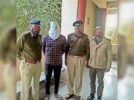 3 लाख व स्कूटी लूटने का आरोपी गिरफ्तार बोला- तीन दिन रेकी के बाद की थी वारदात|रेवाड़ी,Rewari - Dainik Bhaskar