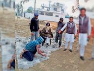 आवला के नेतृत्व में चल रहे विकास कार्य|जलालाबाद,Jalalabad - Dainik Bhaskar