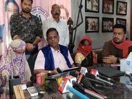 अमित जोगी का दावा- मुख्यमंत्री के विधानसभा क्षेत्र में सरपंच ने किया नाबालिग से दुष्कर्म, गर्भपात भी करवाया|रायपुर,Raipur - Dainik Bhaskar