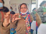 महिला स्वास्थ्य कर्मी ने पहले दिन लगवाई थी कोरोना वैक्सीन, 6 दिन बाद संदिग्ध हालात में मिला शव|गुड़गांव,Gurgaon - Dainik Bhaskar