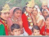 गोवर्धन को अंगुली पर उठाकर भगवान श्रीकृष्ण ने प्रकृति से प्रेम करना सिखाया झुंझुनूं,Jhunjhunu - Dainik Bhaskar